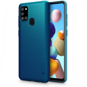 NILLKIN FROSTED SHIELD GALAXY A21S BLUE