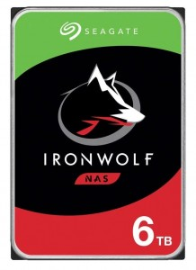 Seagate Dysk IronWolf 6TB 3,5 cala 256MB ST6000VN001