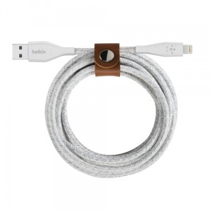 Belkin Kabel Lightning do USB-A DuraTek Plus 3 m biały
