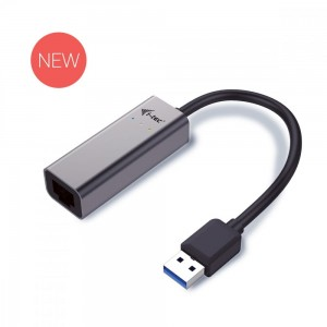 i-tec USB 3.0 adapter Metal Gigabit Ethernet, 1x USB 3.0 do RJ45 10/100/1000 Mbps