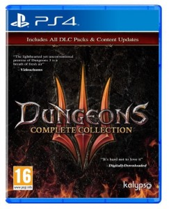 KOCH Gra PS4 Dungeons 3 Complete Collection