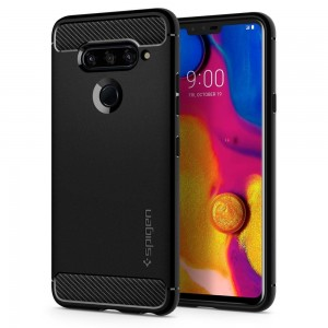 SPIGEN RUGGED ARMOR LG V40 THINQ BLACK
