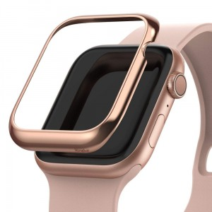 RINGKE BEZEL STYLING APPLE WATCH 4/5 (44MM) GLOSSY PINK GOLD