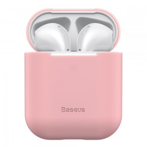 BASEUS APPLE AIRPODS CASE PINK