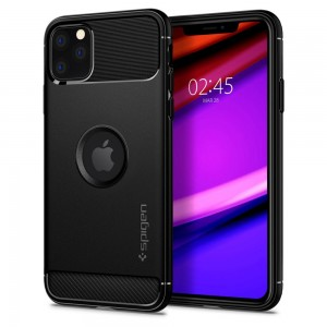 SPIGEN RUGGED ARMOR IPHONE 11 PRO MATTE BLACK
