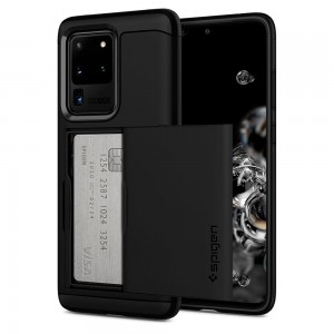 SPIGEN SLIM ARMOR CS GALAXY S20 ULTRA BLACK