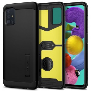 SPIGEN TOUGH ARMOR GALAXY A51 BLACK