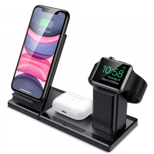 ESR 3IN1 WIRELESS CHARGING STATION BLACK