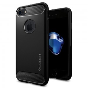 SPIGEN RUGGED ARMOR IPHONE 7/8 BLACK