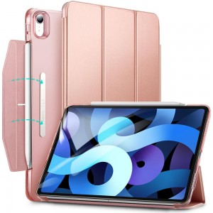 ESR ASCEND TRIFOLD IPAD AIR 4 2020 ROSE GOLD