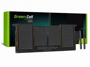 Green Cell Bateria do Apple Macbook Air 11 A1370 A1465 (Mid 2011 - 2013, Early 2014 – 2015) / 7,6V 5000mAh