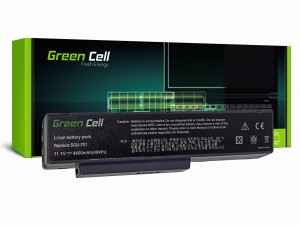 Green Cell Bateria do Packard Bell EASYNOTE MB55 MB85 MH35 MH45 MH88 MV/V / 11,1V 4400mAh